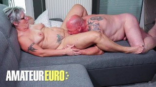 AMATEUREURO - German Granny Has Amazing Fuck With Her Husband
