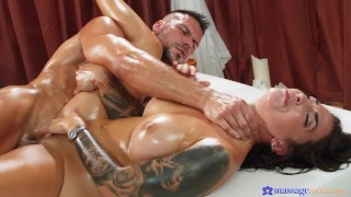Massage Rooms - Medusa Gets An Oily Massage By Angelo Godshack Which Leads To Wild & Hot Sex