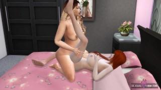 Hard Lesbian Scissoring