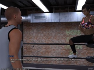 STWA The Unbroken 11 Wrestling with Kana