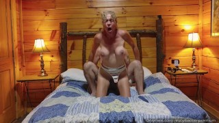 SEXY Closeup DEEPTHROAT Blowjob - REVERSE AMAZON - Rough Doggystyle - VERY HARD PASSIONATE POUNDING