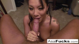 Gorgeous Busty Asian Loves Throating Cock