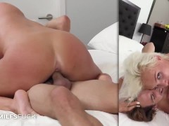 Busty MILF Charli Phoenix Casting Video First Fuck On Film Banged Hard And Taking A Facial