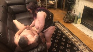 Subby hubby fucked in his ass until he cums everywhere