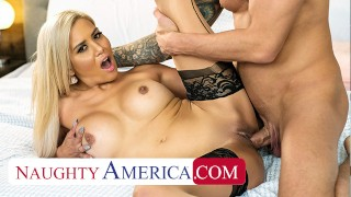 Naughty America - Caitlin Bell fucks her friend's husband in the middle of the party