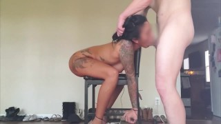 Female Fan joined for Chair Bondage Doggystyle - Full Vid on Onlyfans
