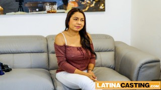 Latina auditions for wild rough hardcore fuck