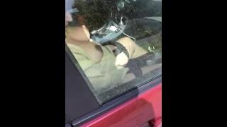 MOM CAUGHT MATURBATING IN CAR