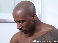 Boss Feeds His Big Dick To Twinky Employee While Working From Home - FalconStudios