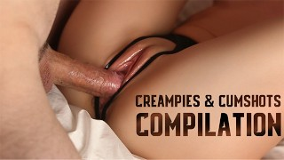 COMPILATION of Creampies and Cumshots - Vol.2