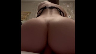 French porn - dirty talk - cochonne se fait plaisir à l'hôtel