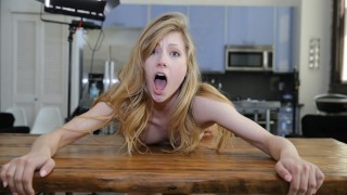IVY WOLFE'S FIRST SCENE! Adorable Blonde Ivy Wolfe Is A Sex Addict