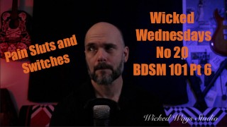 Wicked Wednesdays No 20 BDSM 101 Pain Sluts and Switches