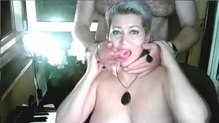 Hot sexy dance of fantastic Russian mommy AimeeParadise! Not bad for 48 years old! Learn girls! ))