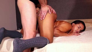DAGFS - Curvy Babe Olivia Nice Shakes That Booty For A Cock