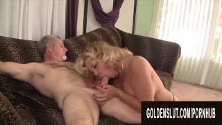 Golden Slut - Big Tits Older Babes Giving Blowjobs Compilation