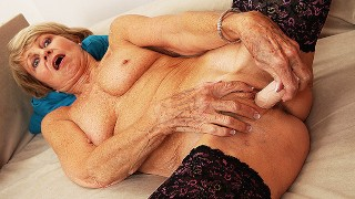 75 years old mom first sex video