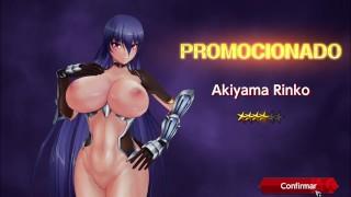 Ascensión Akiyama Rinko Action Taimanin Modo De Desnudo