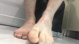 feet, socks, spitting alpha straight.. dominates feet. Foot fetish Domination
