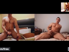 Men - Reese Rideout Gives Newbie Joey Steel Some Tips Over A Video Call But The Duo Becomes Horny